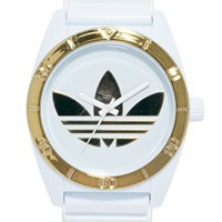 Adidas Santiago White Dial Watch at asos.com