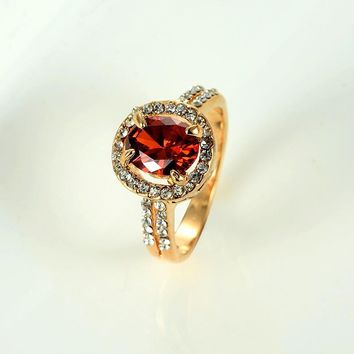 New Arrival Gift Stylish Shiny Jewelry Hot Sale Korean 925 Silver Gemstone Ring [11192906644]