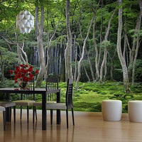 Japanese Forest Wall Mural