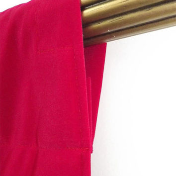 """Custom Fuchsia Velvet 108""""H Curtain Long Panel Extra Length Ready Made Size For Stage/Theater/Trade Show/Wedding/Studio/Event Drapery & More"""