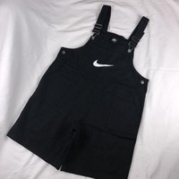 Nike Fashion Zipper Embroider Logo Overalls Jumpsuit