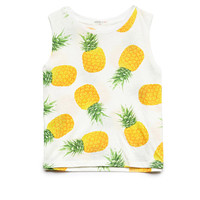 Pineapple Print Tank Top (Kids)