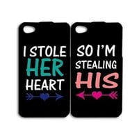 Cute Funny Husband Wife Gf Bf Couple Phone Case iPhone 4 4s iPhone 5 5s 5c 6 New