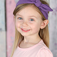 Top Knot Jersey Knit Rabbit Ear Retro Headbands - More Solid Colors Available!