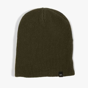 Overdyed Cotton Beanie