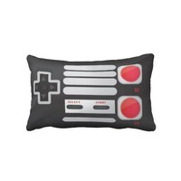 Game System Throw Pillow from Zazzle.com