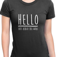 Adele Hello From The Other Side Womans T Shirt