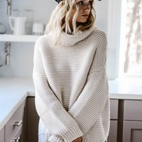 The Goddess Turtleneck Sweater