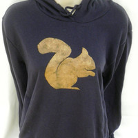 Squirrel Hoodie - Womens - low carbon, organic cotton, fairly traded