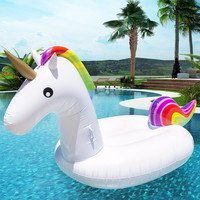 180*85*78cm Giant Inflatable Unicorn Pool Float