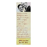 Golden Crown WEDDING Vows Display from InsightfulWeddings* on Zazzle