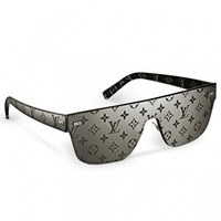 Black City Mask Monogram Sunglasses Z0993U