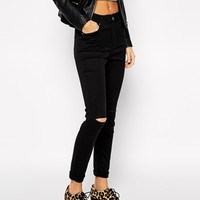 River Island Lana Skinny Jean with Busted Knees