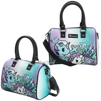 Licensed cool Loungefly Tokidoki Mermicorno Marina Pebble Handbag Shoulder Bag Barrel Purse