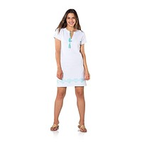 French Terry Short Sleeve Dress by Sail to Sable