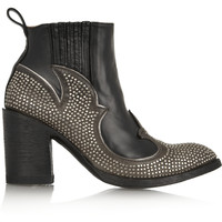 Mexicana - Colere studded leather ankle boots