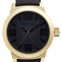 Men's Kenneth Cole Reaction Silicone Strap Watch, 44mm