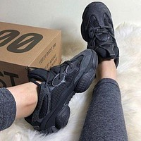 Adidas Yeezy Boost 500 Trendy mesh breathable sneakers