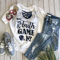 Have faith and game on (Texans) t shirt