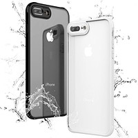 Shockproof Transparent Soft Phone Case For iPhone 7 /7 Plus /8 /8 Plus Soft Phone Back Cover Case