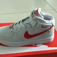 """""""Nike Air Force 1"""" Unisex Sport Casual Classic High Help Plate Shoes Couple Fashion Sneakers"""