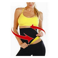 Tummy Trimmer Waist Shaper Corset Slimmer Fitness Back Supporter Abdomen Belt = 1930052228