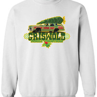 Griswold Family Christmas Awesome TV Movie Inspired Funny sweatshirt sweater shirt Mens Ladies Womens Santa Merry Christmas Xmas DT-645s