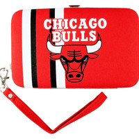 Chicago Bulls Shell Wristlet