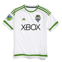 Boy's adidas 'Seattle Sounders' CLIMALITE Third Soccer Jersey
