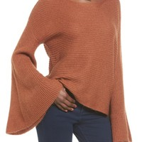 Flare sleeve sweater | Nordstrom