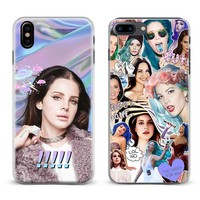 Lana Del Rey Lizzy Fashion Cool Coque Phone Case Cover Shell For Apple iPhone X 8Plus 8 7Plus 7 6sPlus 6s 6Plus 6 5 5S SE