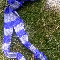 Long Scarf/ Striped Scarf/ Knitted Scarf/ Summer Scarf/ Women Accessories/ Viscose Scarf/ Thin Scarves