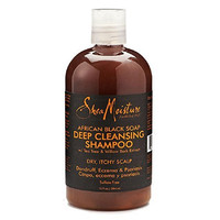 Shea Moisture African Black Soap Deep Cleansing Shampoo - 13 oz.