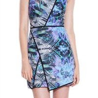 Parker Tobias Printed Halter Dress | ShopAmbience