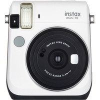 instax mini 70 Instant Film Camera Kit with 20 Sheets instax Film (Moon White)