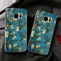 3D Van Gogh Painting Cell Phone Case For Samsung Galaxy S8 S8 plus A5 A7 2016 A520 A720