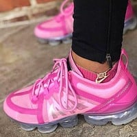 NIKE AIR VAPORMAX Fashion New Hook Print Running Sports Leisure Shoes