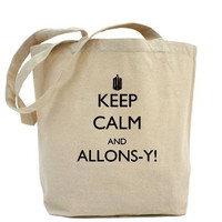 Keep Calm and Allonsy Tote Bag by Caffrin25 on Etsy