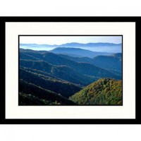 Great American Picture Deep Creek Great Smokey Mountains National Park, Tennessee Framed Photograph - Decor