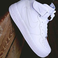 Nike Air force 1 AF1 classic Hight-top men's and women's sneakers Shoes