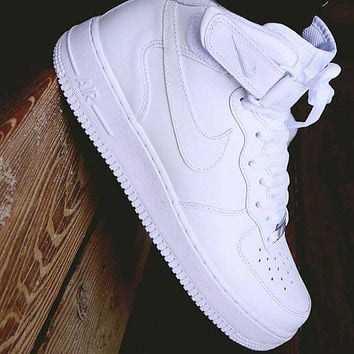 Nike Air force 1 AF1 classic Hight-top men's and women's sneakers