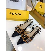 Fendi Retro Beautiful Sandals-5