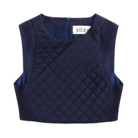 Quilted Fencing Vest by A.W.A.K.E for Preorder on Moda Operandi