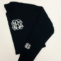 Monogrammed Long Sleeve T-Shirt