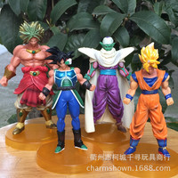 8-13cm Dragon Ball Z Goku Piccolo Action Figure PVC Collection figures toys for christmas gift brinquedos Free shipping