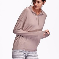 Old Navy Sweater Knit Pullover Hoodie