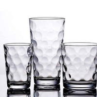 Drinking Glasses Cups Glass Glassware 12 Hiball Juice Water Beverage Galaxy