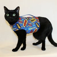 CoolCats Comic Super Hero Cat Harness