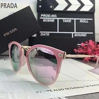 Prada Woman Fashion Summer Sun Shades Eyeglasses Glasses Sunglasses