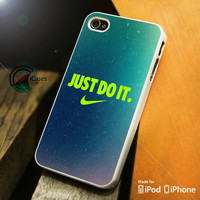 Nike Just Do it sky iPhone 4 5 5c 6 Plus Case, Samsung Galaxy S3 S4 S5 Note 3 4 Case, iPod 4 5 Case, HtC One M7 M8 and Nexus Case